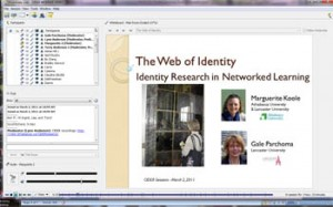 Screenshot for The Web of Identity presentation