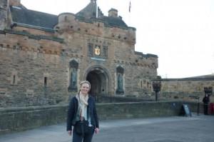 Me at Edinburgh Castle