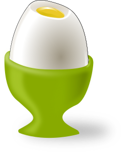 Image of an egg in an egg cup