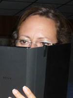 Reading the Sony E-Reader
